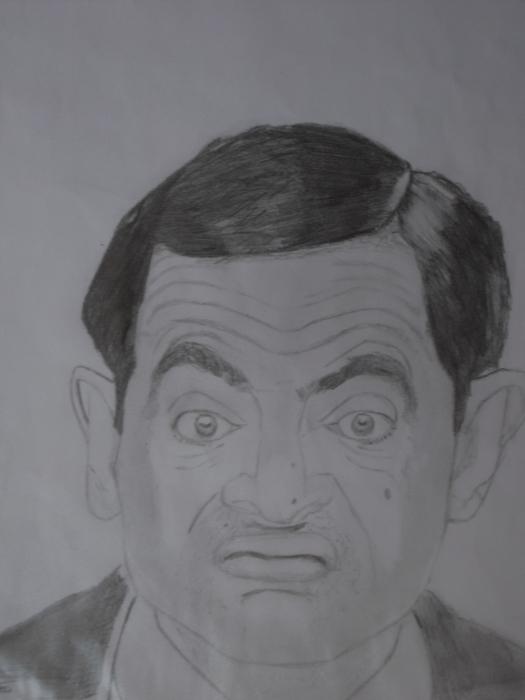 Rowan Atkinson by Erwan